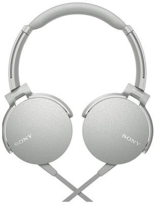 Накладные наушники Sony MDRXB 550 APW.E белый