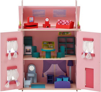 Кукольный дом Paremo Милана с 15 предметами мебели PD 115-01 цена и фото