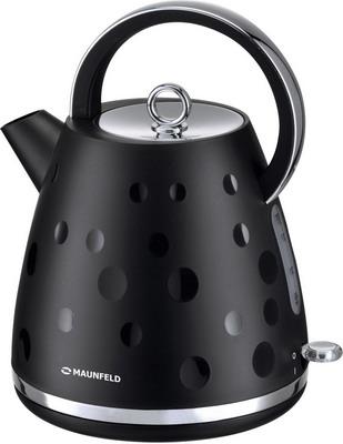 Чайник электрический MAUNFELD MFK-647 BK черный с хромированными элементами