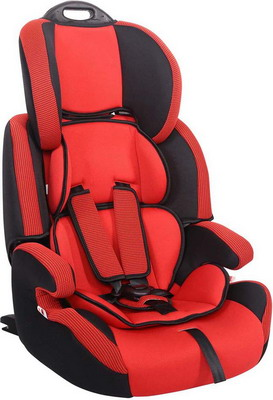 Автокресло Siger Стар ISOFIX 1-12 лет 9-36 кг группа 1/2/3 красный child car safety seat cybex solution m fix sl 2 3 15 36 kg 3 up to 12 years isofix chair baby car seat kidstravel group 2 3