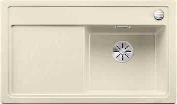 Кухонная мойка Blanco ZENAR 45 S-F (чаша справа) SILGRANIT жасмин с кл.-авт. InFino 523797 цена в Москве и Питере