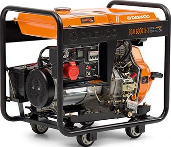 Электрический генератор и электростанция Daewoo Power Products DDAE 6000 XE-3 xe 3 jb 01e 13a