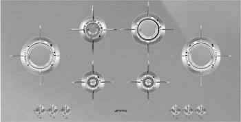Встраиваемая газовая варочная панель Smeg PXL 6106