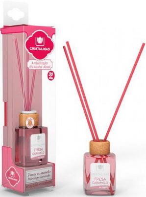 все цены на Ароматический диффузор CRISTALINAS Mikado для жилых помещений с ароматом клубники и карамели 18 мл онлайн