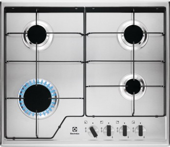 Встраиваемая газовая варочная панель Electrolux GPE 262 MX цена 2017