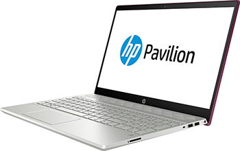 Ноутбук HP Pavilion 15-cs 0032 ur (4JU 81 EA) i5-8250 U Velvet Burgundy