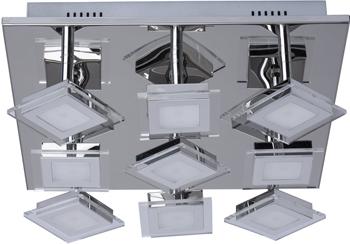 Люстра потолочная DeMarkt Граффити 678010109 9*5W LED 220 V резистор kiwame 5w 9 1 ohm