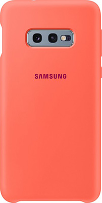 Чехол (клип-кейс) Samsung S 10 e (G 970) SiliconeCover pink EF-PG 970 THEGRU чехол клип кейс samsung s 10 g 975 siliconecover pink ef pg 975 thegru