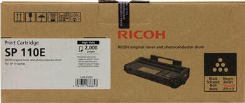 Картридж Ricoh SP 110 E 407442 Черный картридж ricoh тип sp3400he черный 406522
