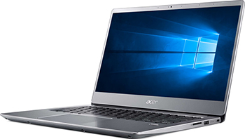 Ноутбук ACER Swift SF 314-56-7716 серебристый (NX.H4CER.001) цена