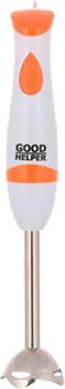 лучшая цена Погружной блендер GoodHelper HB-412 белый/оранжевый