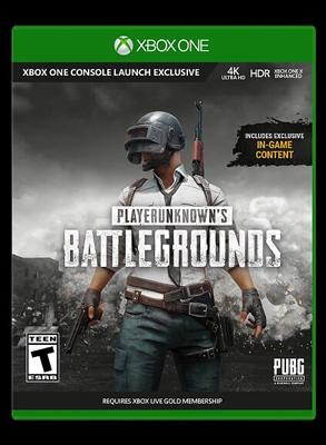Игра для приставки Microsoft Xbox One PLAYERUNKNOWN'S BATTLEGROUNDS Карта с кодом загрузки. (JSG-00017)
