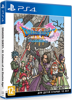 Игра для приставки Sony PS4 DRAGON QUEST XI: Echoes of an Elusive Age. Издание первого дня. света.