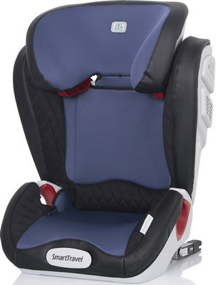 Автокресло Smart Travel Expert FIX Blue 3-12 лет 15-36 кг группа 2/3 KRES2071 child car safety seat cybex solution m fix sl 2 3 15 36 kg 3 up to 12 years isofix chair baby car seat kidstravel group 2 3