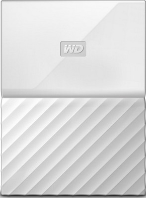 Внешний жесткий диск (HDD) Western Digital Original USB 3.0 4Tb WDBUAX0040BWT-EEUE My Passport 2.5'' белый