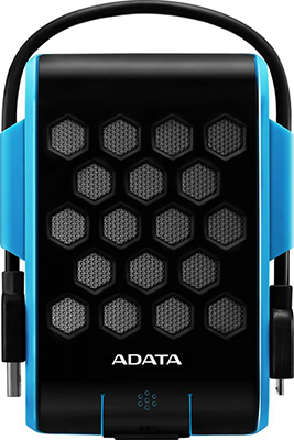 Внешний жесткий диск (HDD) A-DATA USB 3.0 1Tb AHD720-1TU31-CBL HD720 DashDrive Durable (5400rpm) 2.5'' синий