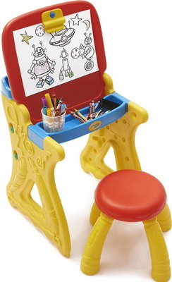 Парта-мольберт со стульчиком Grow'n Up 5013 мольберт д детей со счетами оранжевый
