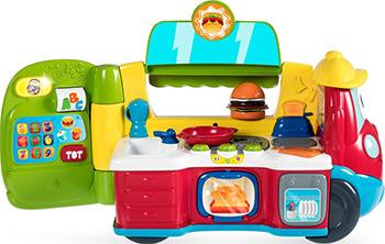 Говорящая игрушка Chicco ''Фургон-кухня'' (рус/англ) 00007416000180 игрушка музыкальная chicco говорящий телефон рус англ с 6 месяцев