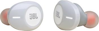 Фото - Вставные наушники JBL T120 TWS WHT вставные наушники jbl t220 tws blu