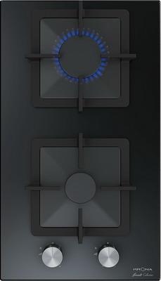 Встраиваемая газовая варочная панель Krona CALORE 30 BL встраиваемая газовая варочная панель krona calore 60 wh