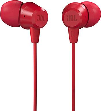 Фото - Наушники проводные JBL C50HI RED красный гарнитура jbl c50hi синий