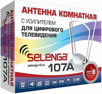 Фото - ТВ антенна Selenga 107A антенна комнатная selenga 107a