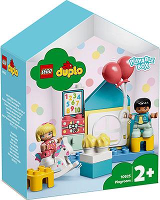 Конструктор Lego DUPLO Town Игровая комната 10925 lego duplo 10925 конструктор лего дупло игровая комната
