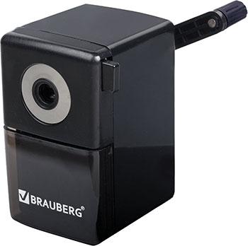 Точилка механическая Brauberg BlackJack металлический механизм цвет чёрный 222516