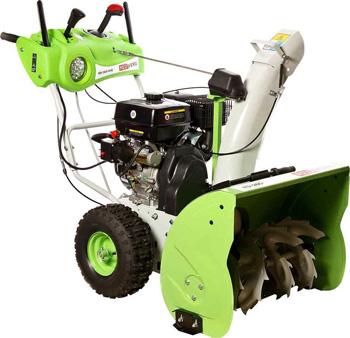 Фото - Снегоуборочная машина RedVerg RD-260-90E снегоуборочная машина бензиновая champion st656 6 5 л с 56 см 3 6 л 72кг ручной стартер колёсный привод 5f 2r