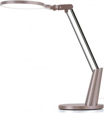 Настольная лампа Xiaomi Yeelight LED Eye-Friendly Desk Lamp Pro (YLTD04YL) золотистая настольная лампа xiaomi yeelight led light sensitive desk lamp v1 pro clamping version yltd13yl