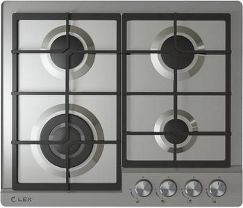Встраиваемая газовая варочная панель Lex GVS 640 Inox