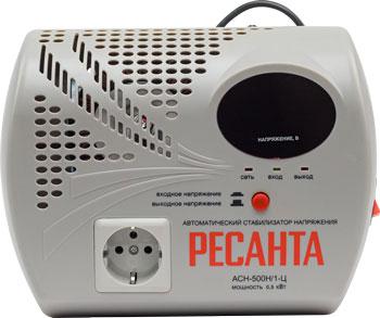 Стабилизатор напряжения Ресанта АСН- 500 Н/1-Ц Lux стабилизатор ресанта ach 500 н 1ц