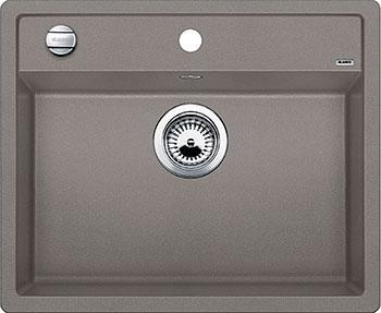 Кухонная мойка BLANCO DALAGO 6 SILGRANIT серый беж с клапаном-автоматом мойка кухонная blanco dalago 45 серый беж с клапаном автоматом 517317
