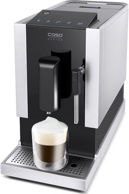лучшая цена Кофемашина автоматическая CASO Cafe Crema One