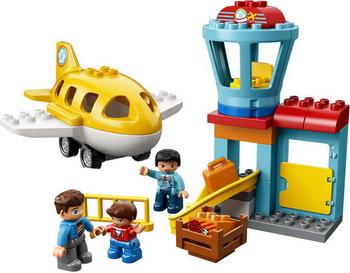 Конструктор Lego DUPLO Town: Аэропорт 10871 лакомство для грызунов versele laga crispy палочки для кроликов и шиншилл с лесными ягодами 2х55г