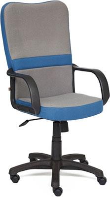Кресло Tetchair СН757 (ткань серый/синий С27/С24) кресло tetchair baggi ткань серый синий с27 с24