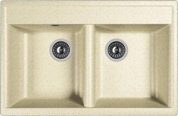 Кухонная мойка Dr.Gans АСТРА-780 латте мебель алаванн латте