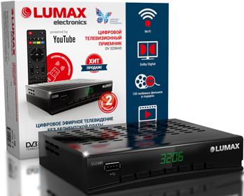 Фото - Цифровой телевизионный ресивер Lumax DV 3206 HD редакция газеты наша версия наша версия 18 2019
