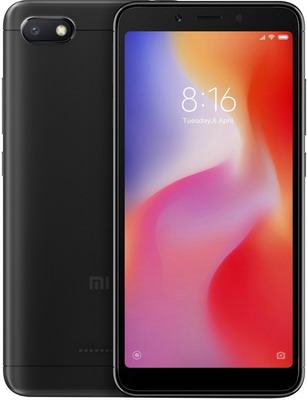 лучшая цена Смартфон Xiaomi Redmi 6A 2/32Gb черный