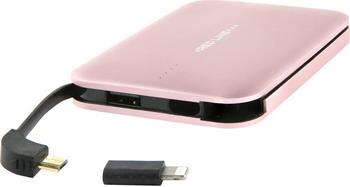 Внешний аккумулятор Red Line B6000 (6000 mAh) металл розовое золото red line b8000 pink gold внешний аккумулятор 8 000 mah