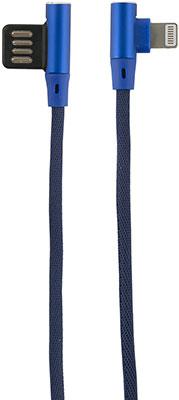 Фото - Кабель Red Line Fit USB-Lightning синий кабель alca lightning usb 2 0 510740 плоский 1 м синий