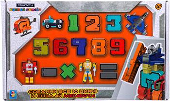 Набор Трансформеры 1 Toy Трансботы ''Боевой расчет'' (10 цифр 5 знаков)Т16428