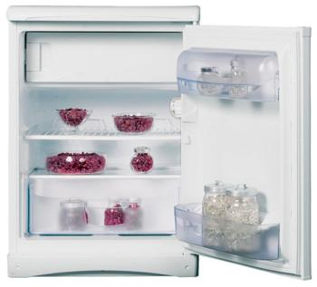 Однокамерный холодильник Indesit TT 85 цена и фото