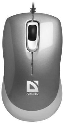 Мышь Defender Orion MM-300 grey 52817 мышь defender orion 300 g usb