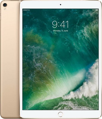 Планшет Apple iPad Pro 10 5 Wi-Fi + Cellular 256 ГБ золотистый (MPHJ2RU/A) планшет apple ipad pro 12 9 wi fi cellular 2018 256 гб серебристый