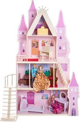 Кукольный дворец Paremo Розовый сапфир с 16 предметами мебели и текстилем PD 316-05 цена и фото