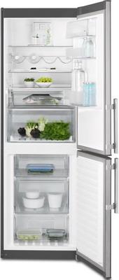 Двухкамерный холодильник Electrolux EN 3454 NOX двухкамерный холодильник electrolux en 3452 jow