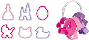 Формочки для девочек Tescoma DELICIA KIDS 6шт 630920 трафареты для украшения tescoma delicia 6шт 630676
