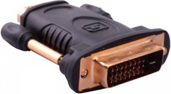Адаптер-переходник Vention DVI 24 1 M/ HDMI 19 F адаптер orient c307 displayport m dvi f длина 0 2 метра черный