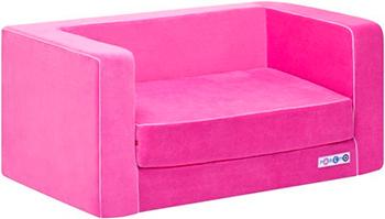 Раскладной игровой диванчик Paremo розовый PCR 316-05